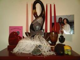 akoma day, akoma, jandofabrics, african american, love, black love, alter, meza wa akoma
