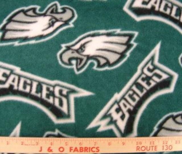 Philadelphia Eagles Fleece Fabric