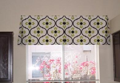 No Sew Window Treatments Valance