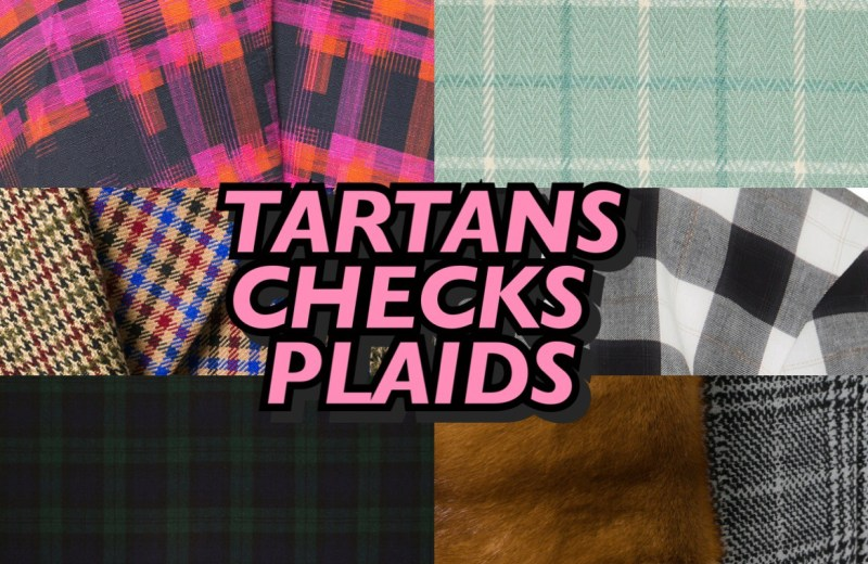 tartans checks and plaids