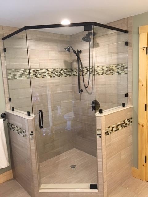 Frameless Showers  J R Glass