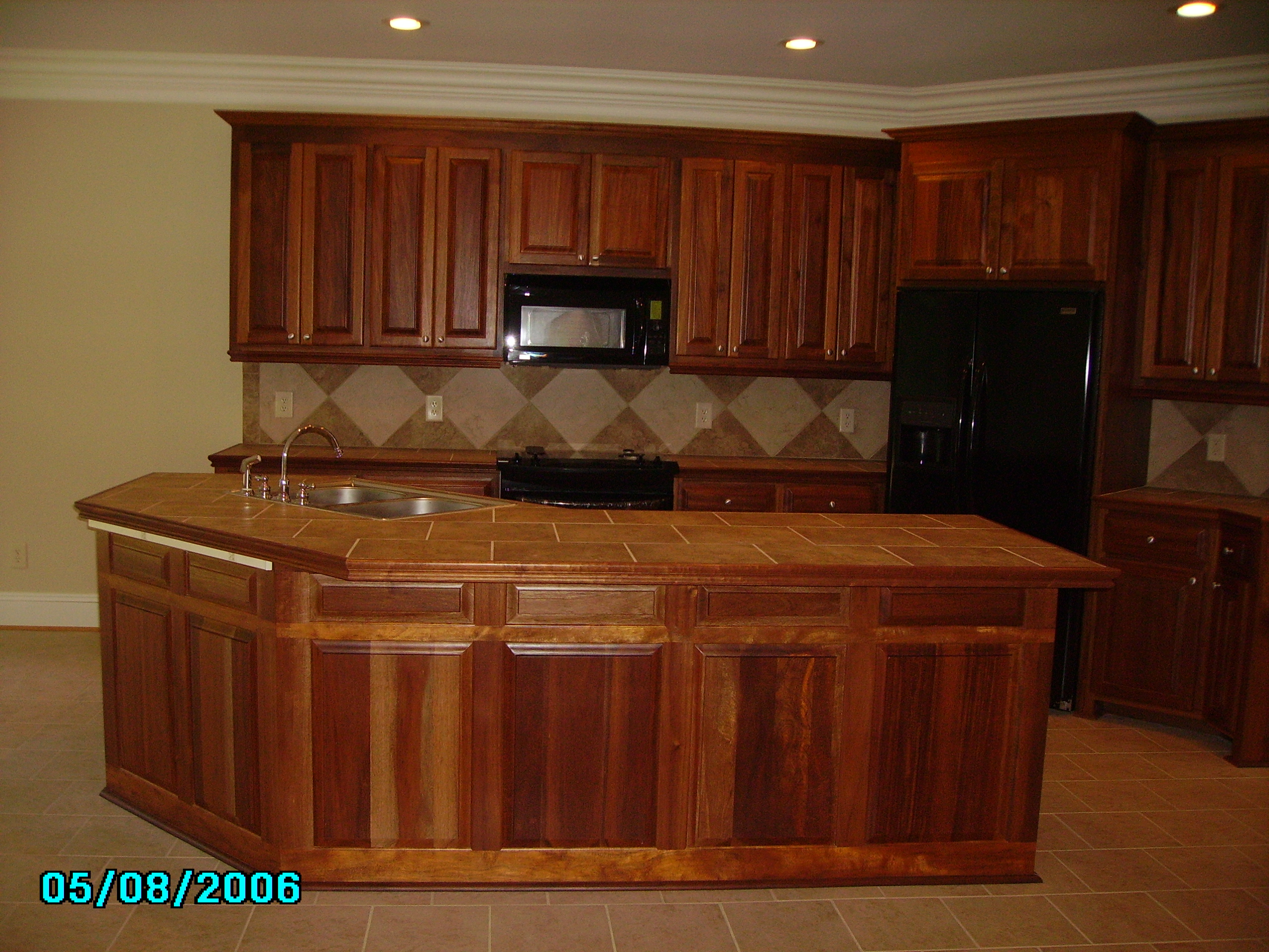 MAHOGANY Cabinets  3363429268  J  S Home Builders and