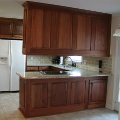 Mahogany Kitchen Cabinets Subway Tile In Mims Job  336 342 9268 J And S Home Builders Cabinetry