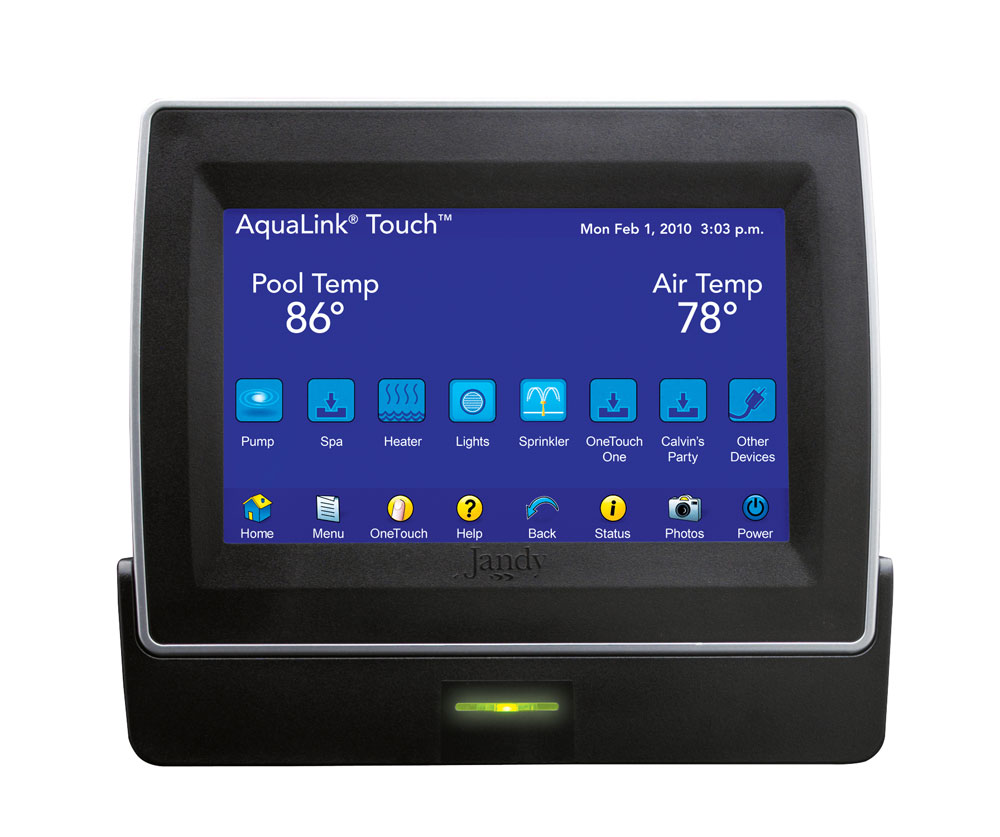 hight resolution of aqualink touch swimming pool automation