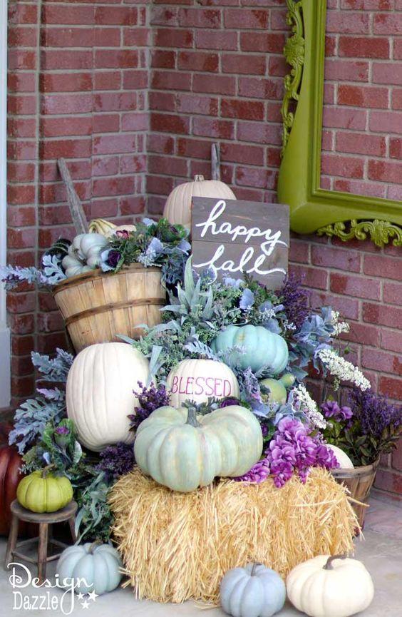 Fresh Fall Home Decorating Ideas Home Tour: 25 Fresh Fall Porch Ideas