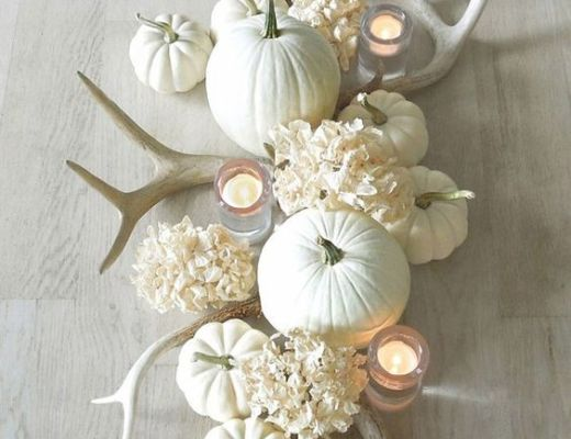 Fall Home Decor and Table Setting Ideas