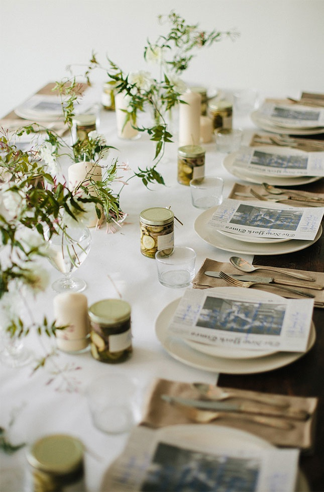 16 Beautifully Simple Thanksgiving Table Setting Ideas - jane at home