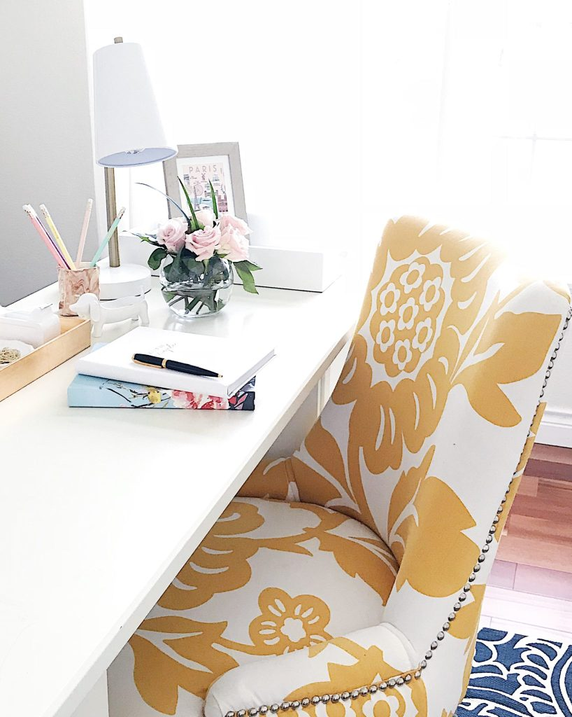 5 Tips to Declutter Your Home and Simplify Your Life-light filled office space