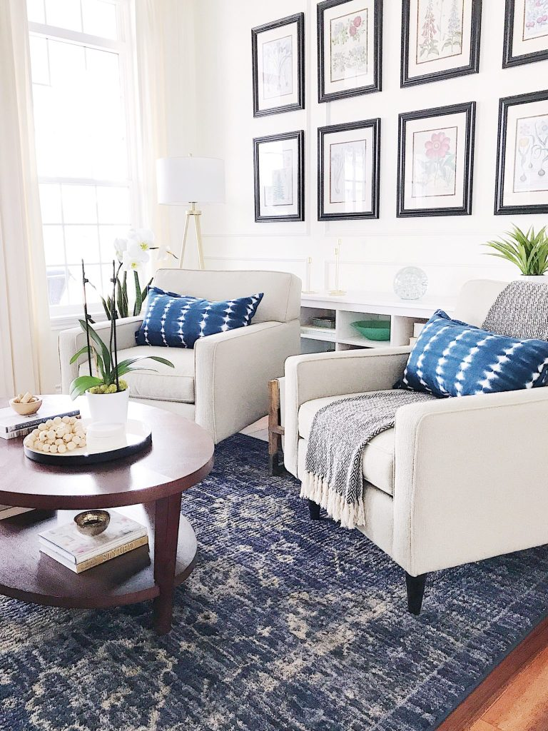 Spring Home Inspiration: Decorating with Blue - jane at home