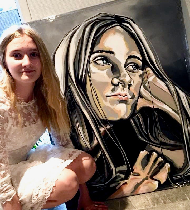 Portrætmaleri og Andrea