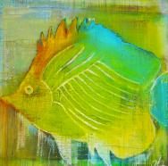 Fisk 1 120X80 cm · privat eje