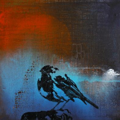 Lille fugl 60X60 cm · privat eje