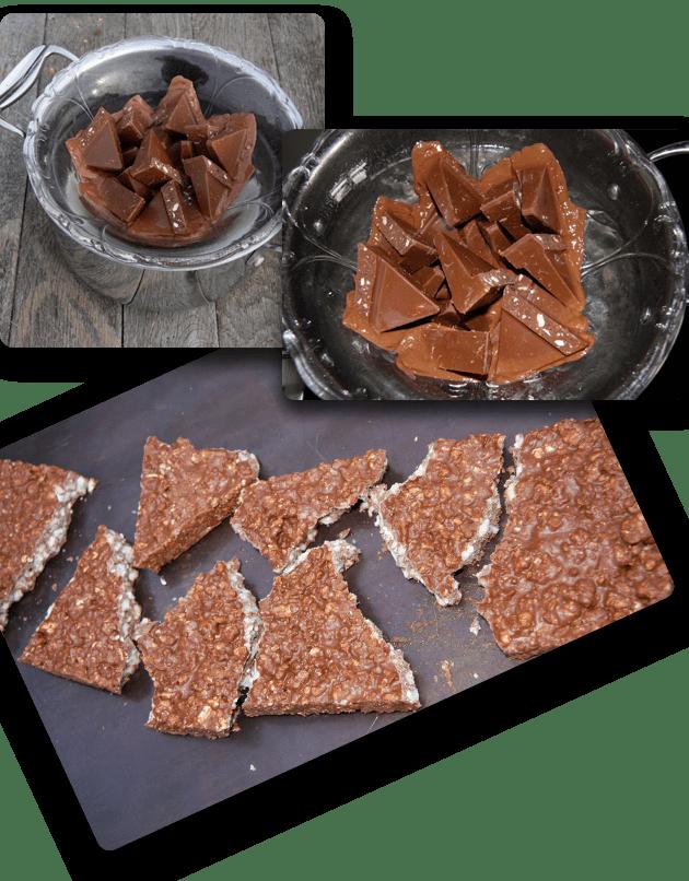 Toblerona snack