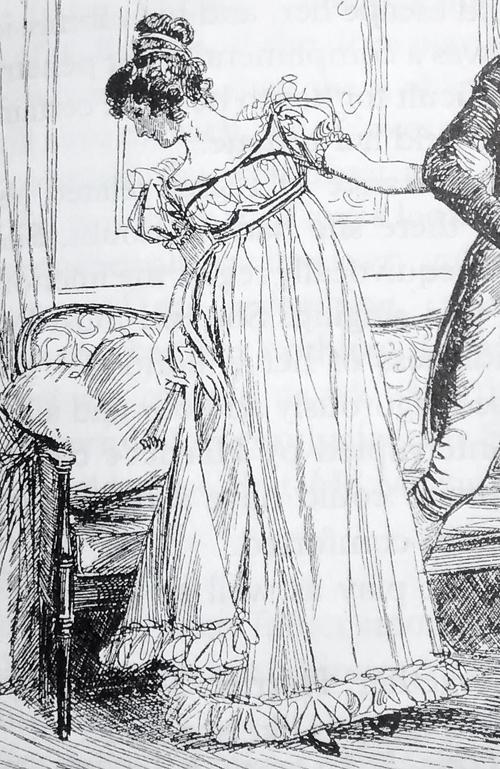 Emma Woodhouse por Hugh Thomson