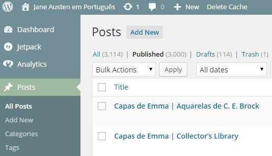 3000 posts no Jane Austen em Português