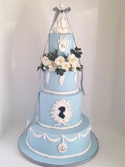 Bolo Jane Austen, Fabulously Floral Cakes