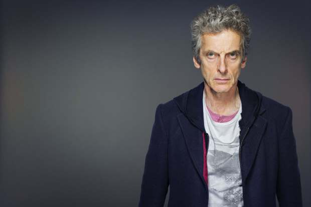 Peter Capaldi como Doctor Who