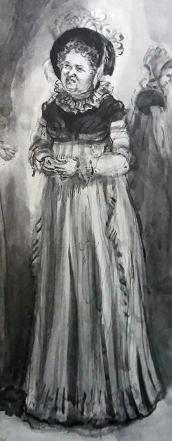 Mrs. Bennet por Isabel Bishop