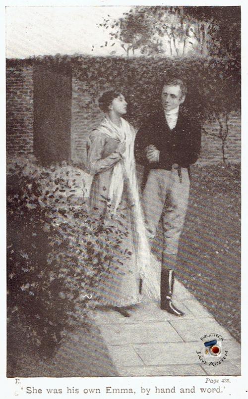 Emma e Mr. Knightley por William Sewell