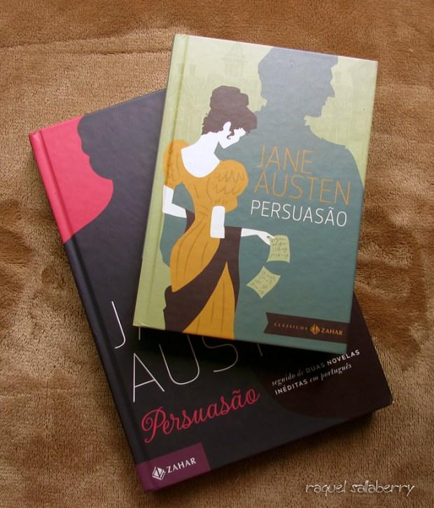 Editora Zahar, duas edições de Persuasão