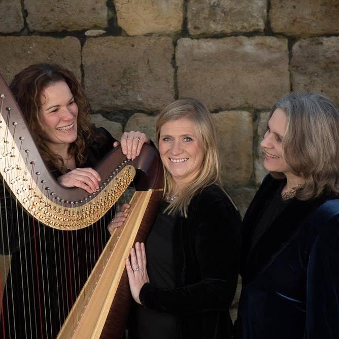 The Austen Trio - Samantha Carrasco (piano), Kate Ham (harpa), Helen Neeves (soprano)
