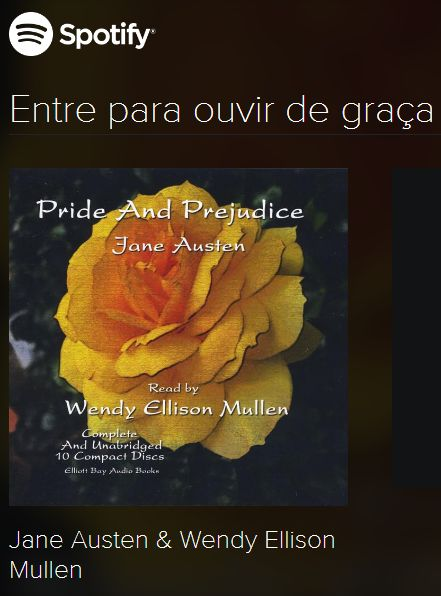 Spotify Pride and Prejudice por Wendy Ellison Mullen