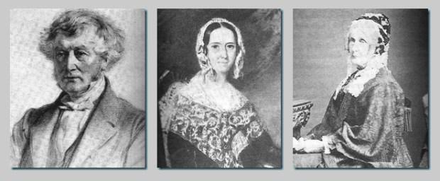 Tia Jane, sobrinhos: James Edward, Anna e Caroline
