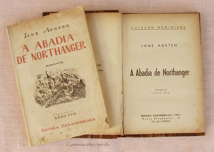 Primeiras traduções de Jane Austen no Brasil - A abadia de Northanger