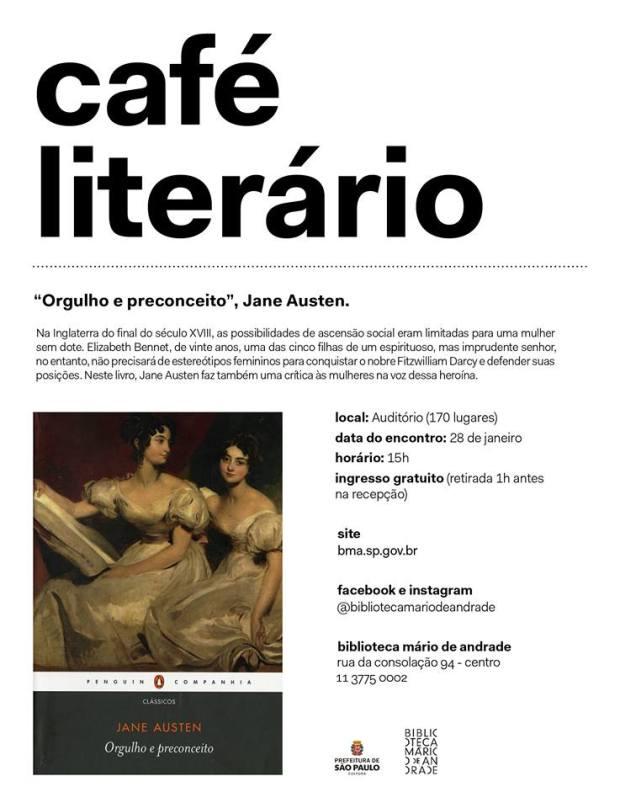 Café Literário - Biblioteca Mário de Andrade