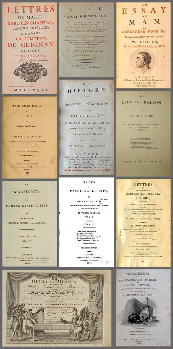 Livros Que Jane Austen Leu 4