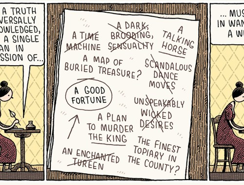 Jane Austen cartoons Tom Gauld