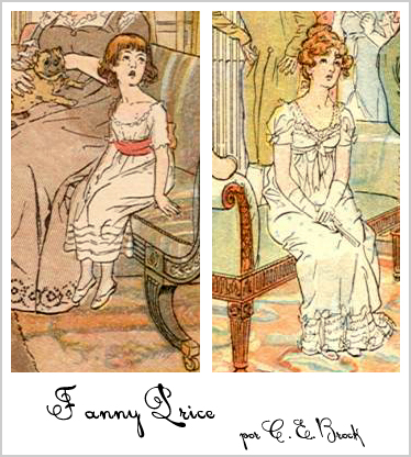 Fanny Price por C. E. Brock