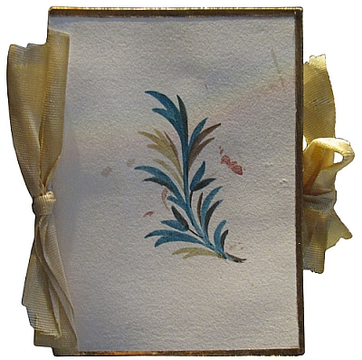 Estojo de agulhas feito por Jane Austen