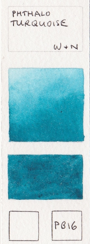 Other Single Pigment Turquoise Watercolours Made With Pb Or Primatek Pigments