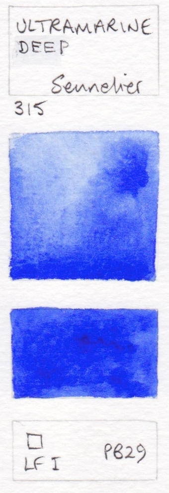 blue watercolour swatches jane