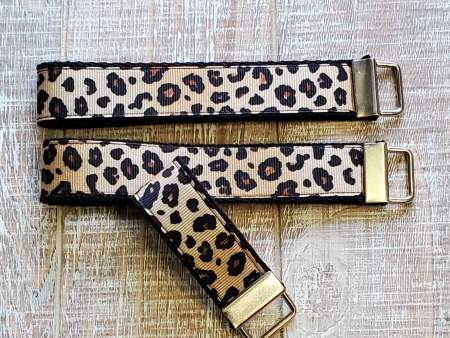 Cheetah Print Key Chain Wristlet