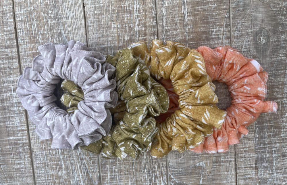 Boho Modern Scrunchies