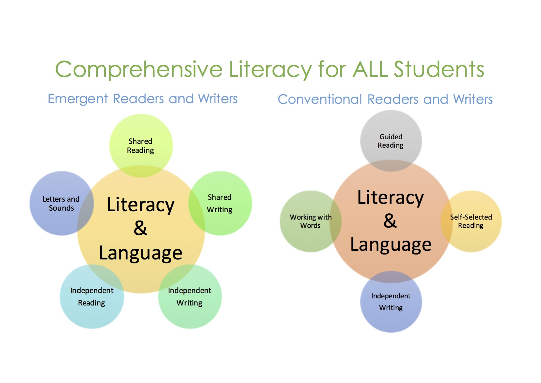 Should Literacy Instruction Be >> Comprehensive Literacy Instruction Meeting The Instructional Needs