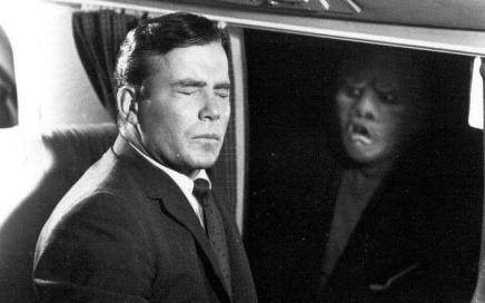 Twilight Zone creature on plane