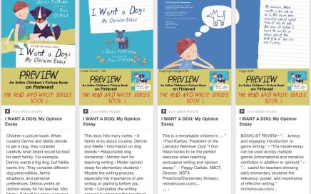 Book marketing on Pinterest