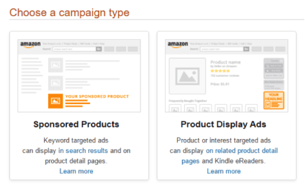 choose type campaign