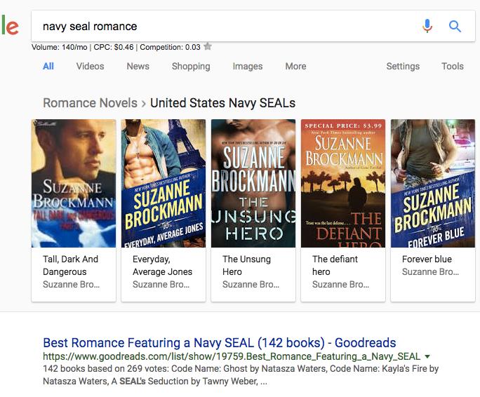 Navy SEAL romance