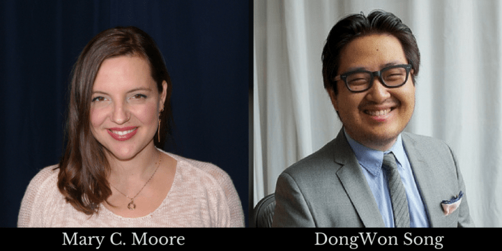 Mary C Moore and DongWon Song