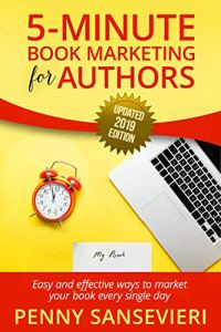 5 Minute Book Marketing for Authors