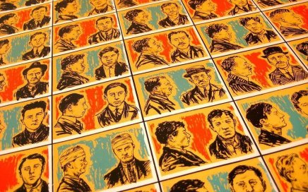 Image: grid of mugshots