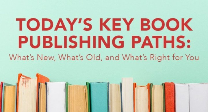 Today's Key Book Publishing Paths