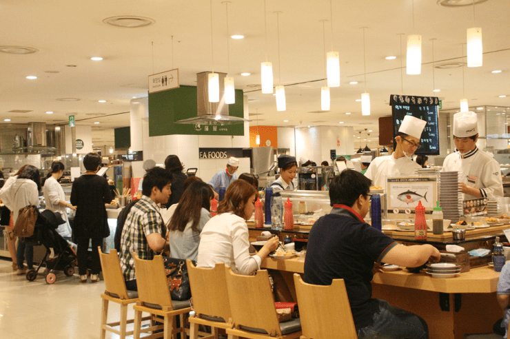 day 2 food court lotte mall