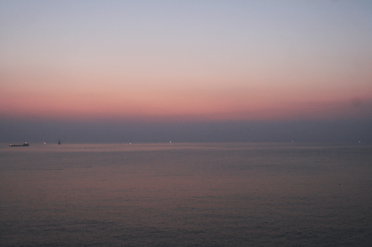 sunrise haeundae beach busan korea 8