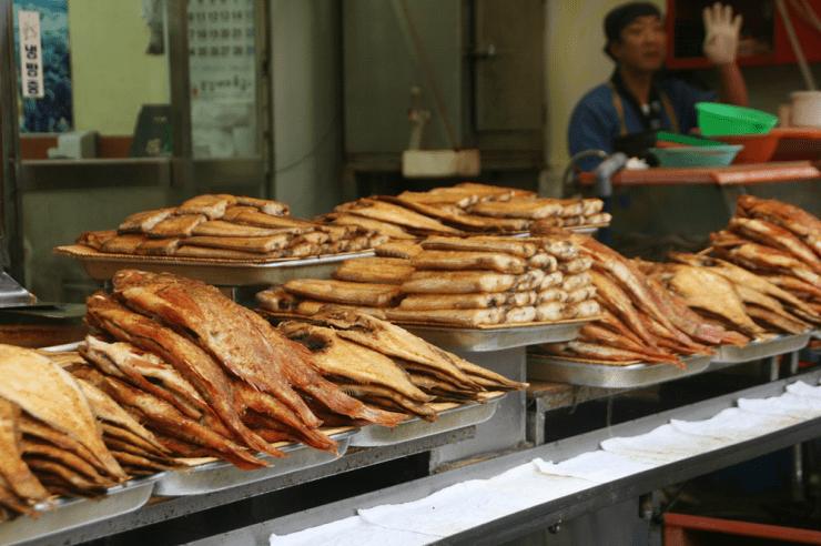 jagalchi fish market busan 4