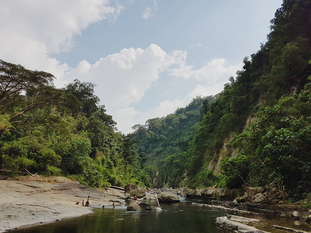 Trekking to Tangadan Falls in La Union